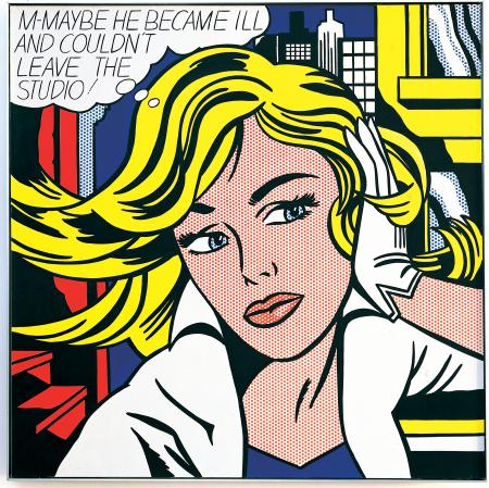 Top 10 Pop Art By Lichtenstein - WallArt101