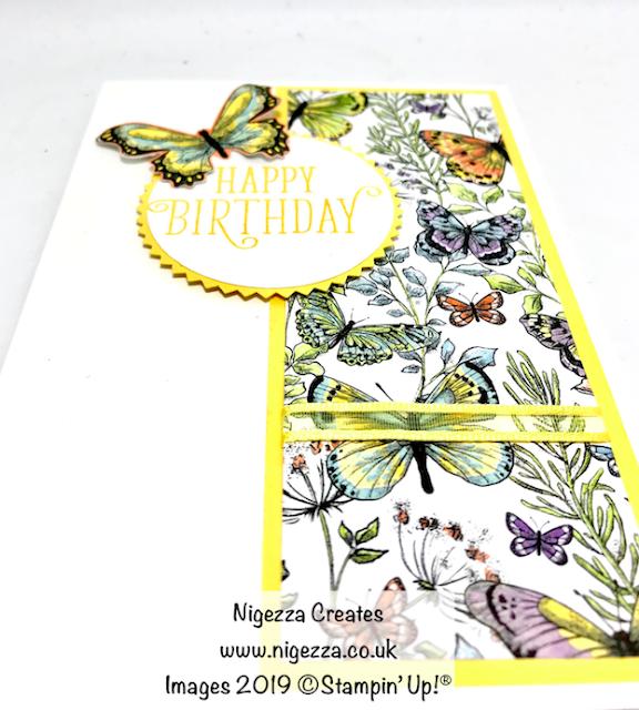 Nigezza Creates Stampin' Up! Card Sketch
