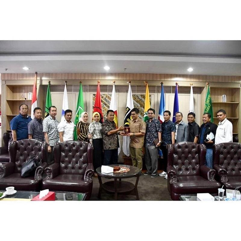 Ketua DPRD Jabar Menerima Kunjungan DPRD Kab. Bogor