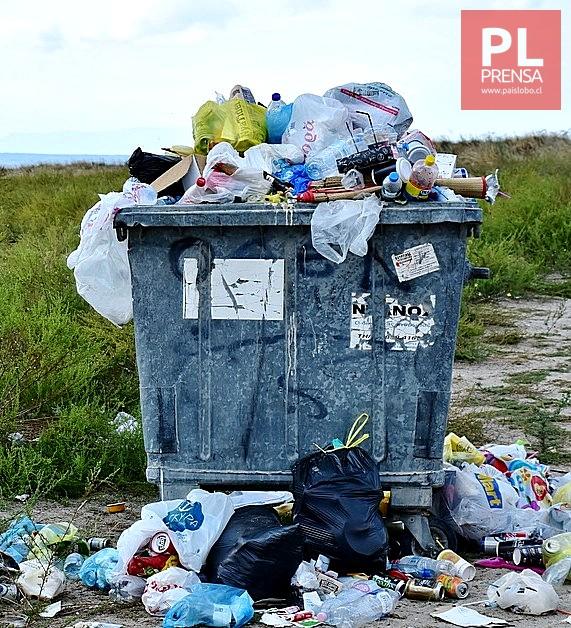 Grave problema de basura en la provincia de Osorno