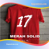 Kaos Hut Ri 17 Agustus Untuk Pria Dan Wanita
