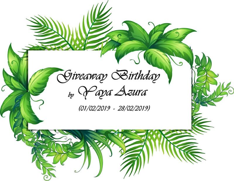 UPDATE SENARAI PESERTA BIRTHDAY GIVEAWAY BY YAYA AZURA