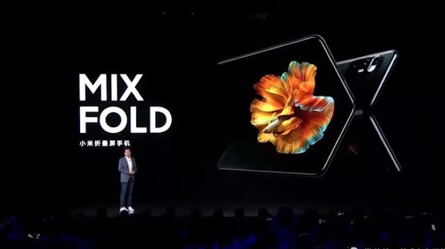 Xiaomi Rilis Mix Fold, Ponsel Lipat yang Penuh Kemewahan