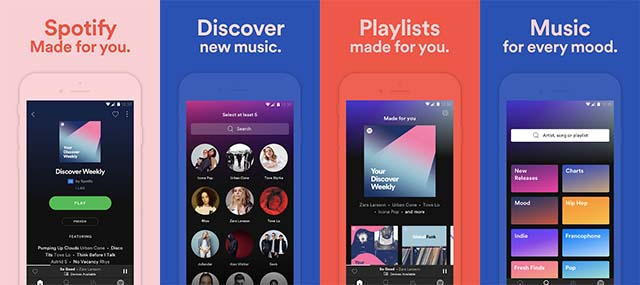 Spotify - Aplikasi Streaming Musik Android Gratis