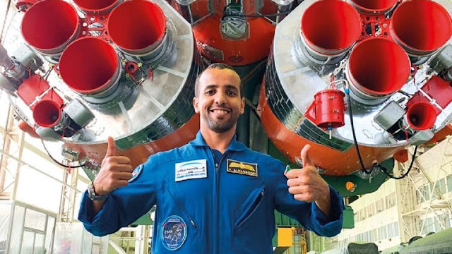 Ini Cara Shalat Astronot Arab Hazza Al-Mansoori di Luar Angkasa