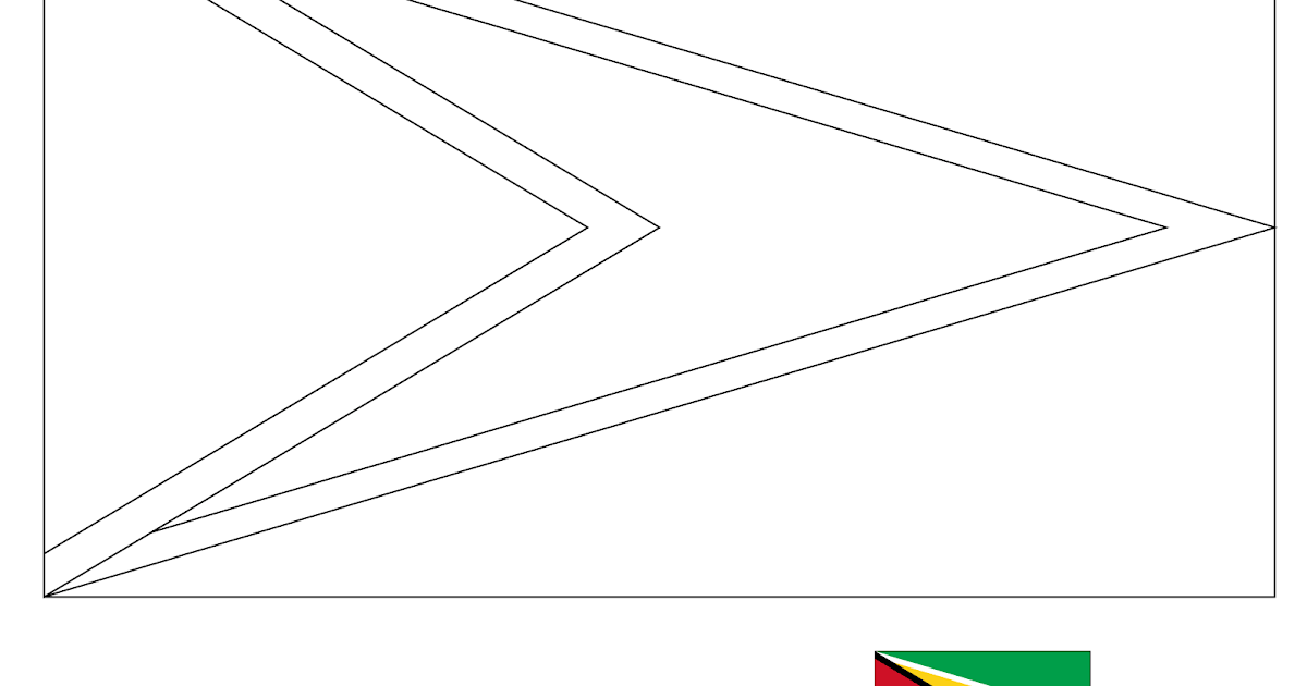 Bandera De Guyana Francesa Para Colorear Guayana Francesa