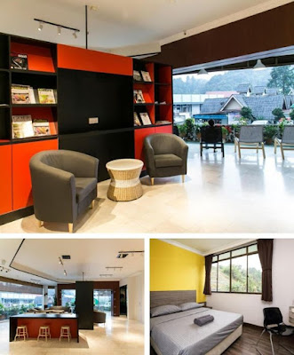 Parkland Apartment Cameron Highland lobi