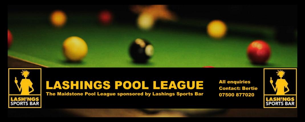 Official Lashings Pool League