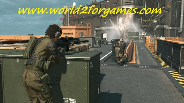 تحميل لعبة Metal Gear Solid V للكمبيوتر