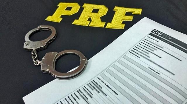 Foragido da justiça é preso pela PRF na Paraíba em barreira sanitária de enfrentamento ao COVID-19