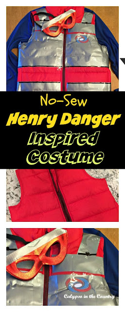 No Sew Henry Danger (aka Kid Danger) Inspired Costume - DIY Halloween Costume when you can't find the right one in the store.