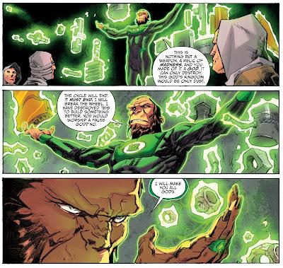 Reseña de El Planeta de los Simios / Green Lantern, de Justin Jordan y Robbie Thompson - ECC Ediciones