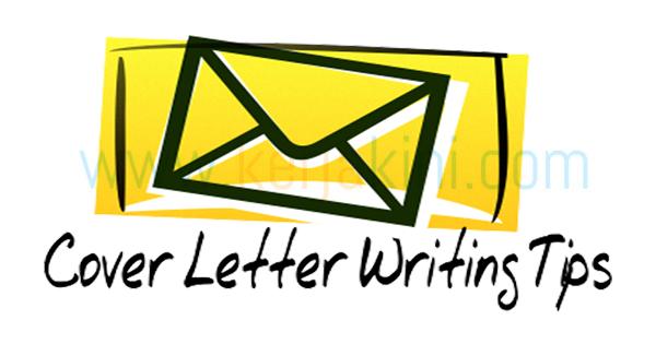 cara menulis cover letter