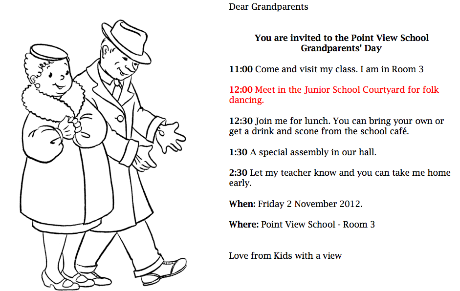 grandparents day essay contest This year, the north dakota state fair's annual essay contest will be awarding the grandparent of the year the contest is open to all 4th and 5th graders essays should be 150 words or less and center around why my grandparent/s deserve to be grandparent/s of the year.
