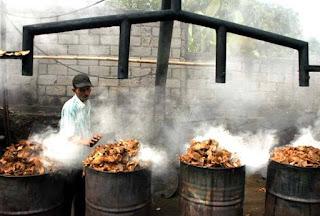 proses pembuatan arang batok kelapa sederhana