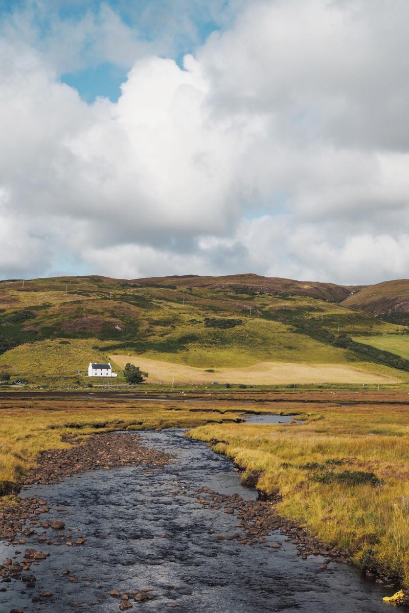 Les paysages de l'île de Skye en Ecosse