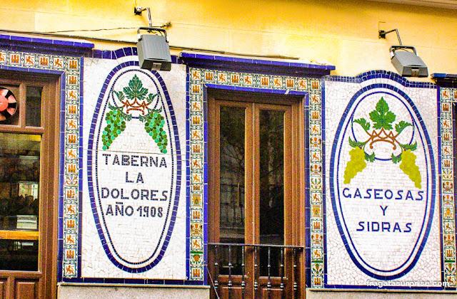 Madri: taverna no Bairro de las Letras