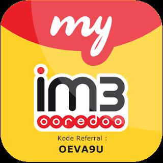 kode referral MyIM3 Indosat Ooredoo