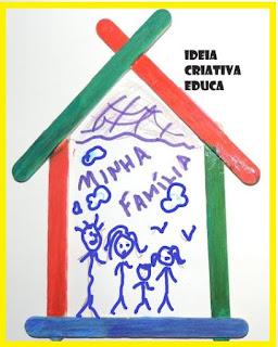 Atividade sobre família educação infantil de acordo com a BNCC