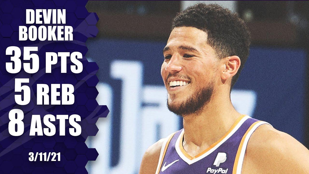 Devin Booker 35pts 5reb 8ast vs POR | March 11, 2021 | 2020-21 NBA Season
