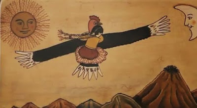 mito de la joven y el condor