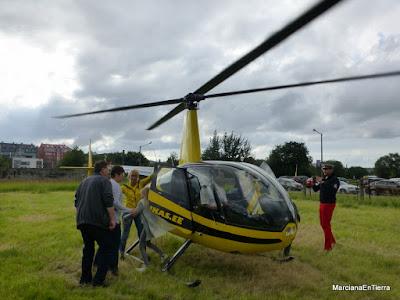 Vuelo en helicóptero por Tallin