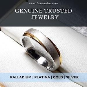 cincin kawin palladium single 465