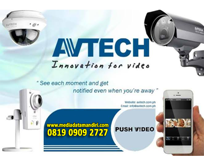 CCTV  AVTECH  | media data mandiri
