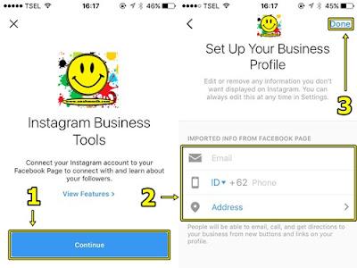 Cara Menambahkan Tombol Kontak Di Profil Instagram Terbaru