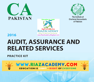CFAP-06 Audit, Assurance and Related Services 2016 - Practice Kit