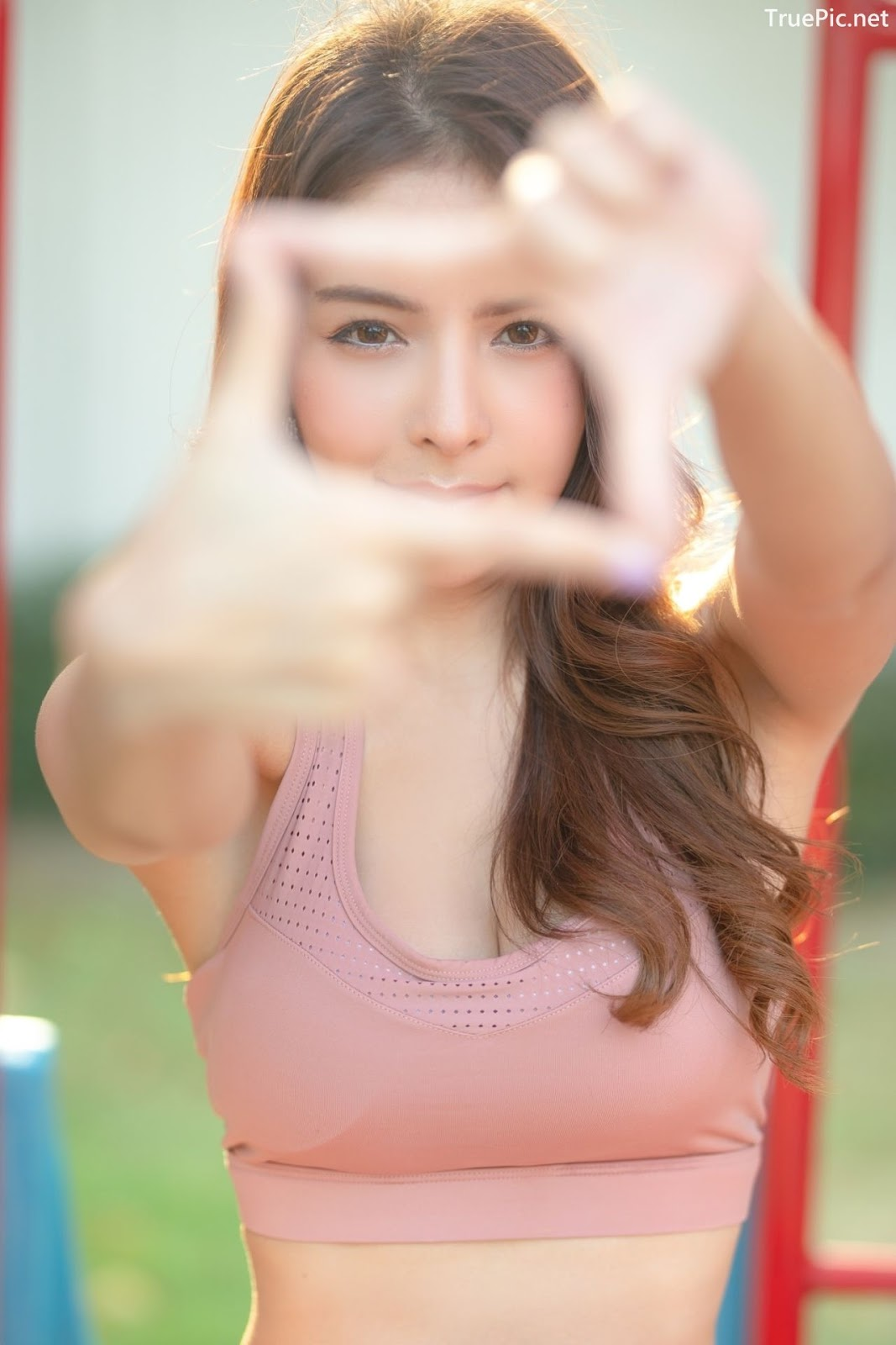 Image-Thailand-Beautiful-Model-Soithip-Palwongpaisal-Pink-Fitness-Girl-TruePic.net- Picture-9