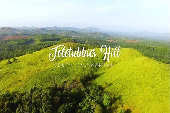 Bukit Rimpi, Bukit Teletubbies, Kalimantan Selatan