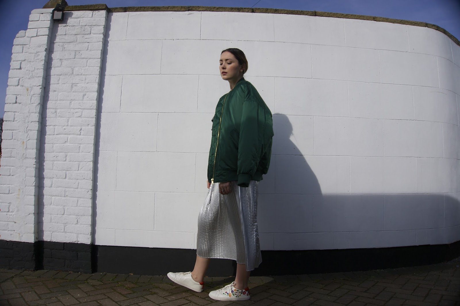 The Oversized Green Bomber
