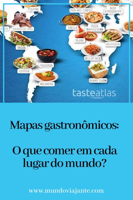 template pinterest de mapa de comidas tipicas