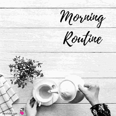 how to set up morning routine
