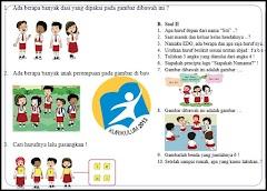 Soal Kurikulum 2013 Revisi Kelas 1 Semester 1 Plus Kunci Jawaban