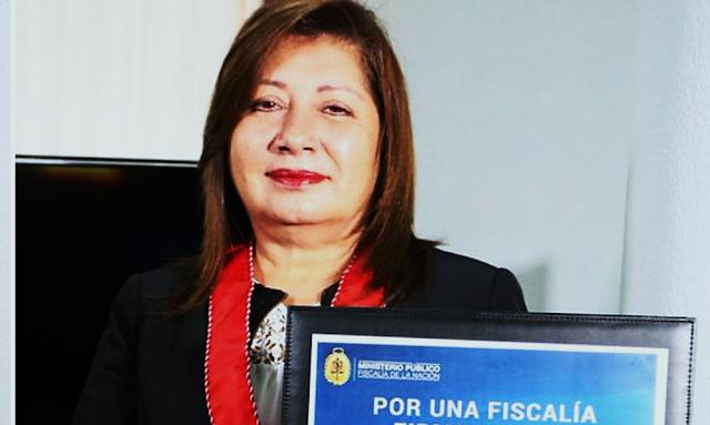 """Fiscal peruana recibirá premio """"Mujeres de Coraje"""" en Estados Unidos de manos de Melania Trump"""