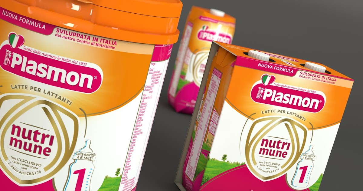 plasmon nutrimune on packaging of the world creative
