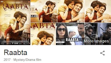 Download Raabta(2017) Sushant Singh Rajput Full Movie in HD Blu-Ray