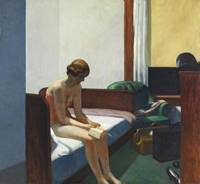 """Edward Hopper, """"Habitación de hotel"""""""