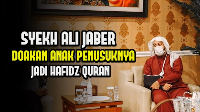 Anak Penusuknya Lahir, Syekh Ali Jaber Beri Selamat, Didoakan Jadi Penghafal Al Quran