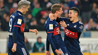 Bayern Munich vs VfB Stuttgart Live Streaming online Today 12.05.2018 Bundesliga
