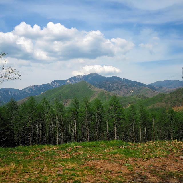 クリスタルライン 金峰山