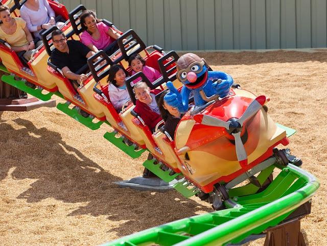 Atracciones para niños en Busch Gardens
