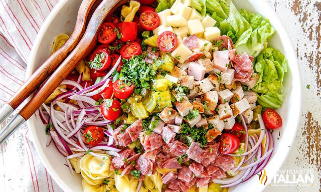 Cuban Sandwich Pasta Salad