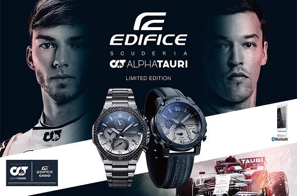 Casio Edifice Scuderia Alpha Tauri F1