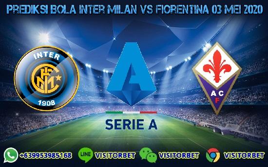Prediksi Skor Inter Milan vs Fiorentina 03 Mei 2020
