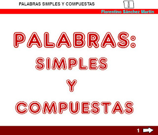 Palabras simples y compuestas