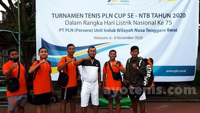 GM PLN UIW NTB, Lasiran, Buka Turnamen Tenis PLN Cup 2020 se Nusa Tenggara Barat