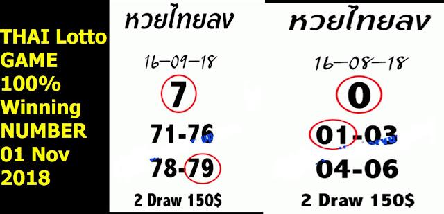 THAI Lotto GAME